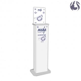 Maxja - Piantana Colonnina per Dispenser Gel Igienizzante da Litro - IVA 5%