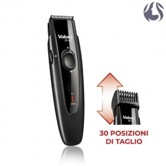 Valera - XCut Regolabarba Rasoio Elettrico 30 Posizioni