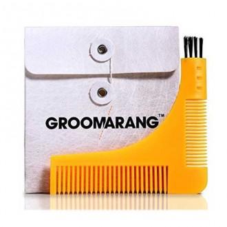 GROOMARANG - Pettine da barba per contorno